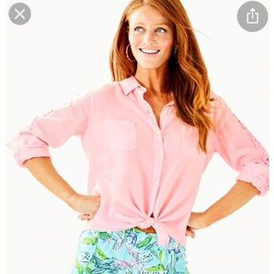 Lilly Pulitzer Sea View Button Down
